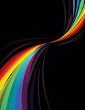 Rainbow design stock photos