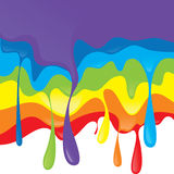 Rainbow design. Abstract vector illustration Royalty Free Stock Photos