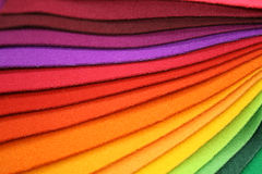 Rainbow Design Background Stock Image