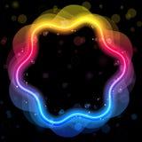 Rainbow Design Element Border Stock Images
