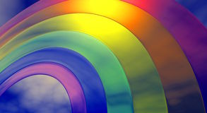 Rainbow Detail Stock Images
