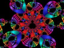 Rainbow di Mardi Gras Fotografie Stock Libere da Diritti