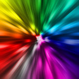 Rainbow diamond Royalty Free Stock Image