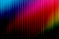 Rainbow disco. Musical background painted in the colors of the rainbow Stock Photos