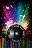 Rainbow Disco Background Royalty Free Stock Photo