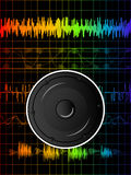 Rainbow disco background Stock Photos
