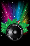 Rainbow Disco Background Stock Photography