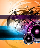 Rainbow Disco Background for Posters or Flyers stock illustration