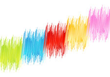 Rainbow distortion Royalty Free Stock Photos