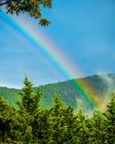 Rainbow dopo la tempesta Fotografie Stock Libere da Diritti