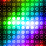 Rainbow dots Stock Image