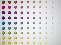 Rainbow dots Royalty Free Stock Images