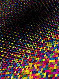 Rainbow dots. EPS 8 Stock Images