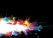 Rainbow drag band Stock Image