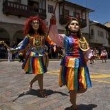 Rainbow Dresses Royalty Free Stock Photo