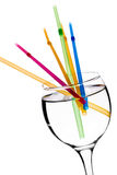 Rainbow drink Royalty Free Stock Images