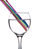 Rainbow drink Stock Images
