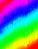 Rainbow Drips Royalty Free Stock Photo