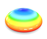 Rainbow/Drop Royalty Free Stock Image