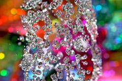 Rainbow drops. Stock Photos