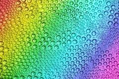 Rainbow drops Royalty Free Stock Image