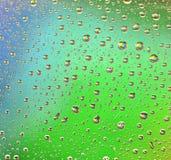 Rainbow Drops Water Rain Background Stock Photography