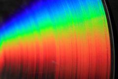 Rainbow dvd texture Royalty Free Stock Image