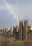 Rainbow in Edinburgh Royalty Free Stock Image