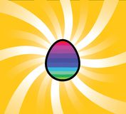 Rainbow egg Royalty Free Stock Photography