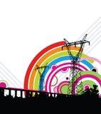 Rainbow energy Royalty Free Stock Photography