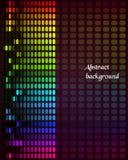Rainbow Equalizer on dark background Royalty Free Stock Photography