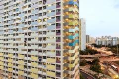 Rainbow Estate in Choi Hung, Hong Kong Royalty Free Stock Photography