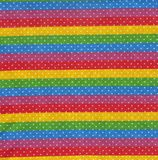 Rainbow fabric Stock Photography