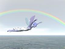 Rainbow Fairy Royalty Free Stock Photo