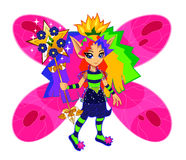 Rainbow fairy Royalty Free Stock Photos