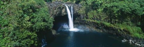 Rainbow Falls stock images