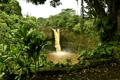 Rainbow Falls Stock Photography