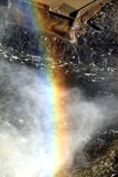 Rainbow and Falls Royalty Free Stock Photography