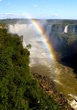 Rainbow & Falls Stock Images
