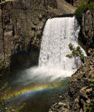 Rainbow Falls. This is Rainbow Falls in Devil's Postpile National Monument in California Stock Photography