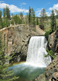 Rainbow Falls, Devil`s Post-pile National Monument Stock Photography