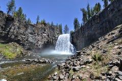 Rainbow Falls, Devil's Postpile National Monument Stock Photography