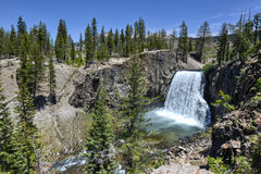 Rainbow Falls, Devil's Postpile National Monument Stock Photography