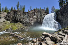 Rainbow Falls, Devil's Postpile National Monument Royalty Free Stock Photography