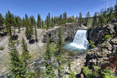Rainbow Falls, Devil's Postpile National Monument Stock Image