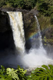 Rainbow Falls Waterfall  Stock Image