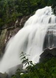 Rainbow Falls Waterfall near Cashiers NC Stock Photos