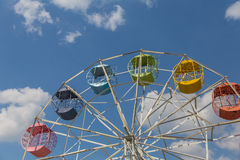 Rainbow Ferris Wheel in Thailand Stock Image