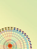 Rainbow Ferris wheel Vector Illustration Royalty Free Stock Image