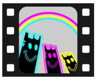 Rainbow film Royalty Free Stock Photos
